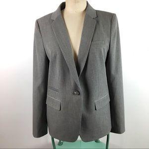LOFT women's grey blazer Size 10